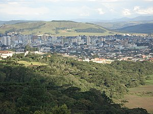 Lages - Skyline of downtown Lages