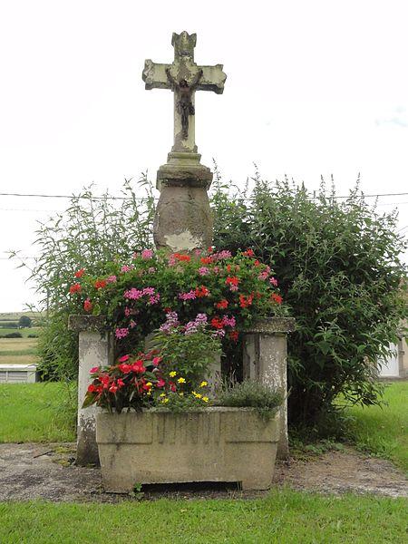 Laneuveville-aux-Bois (M-et-M) croix de chemin
