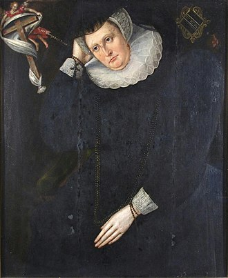 William Dormer - Image: Late C16th oil portrait of a member of the Browne and or Dormer family, (35 x 29 inches), c. 1592