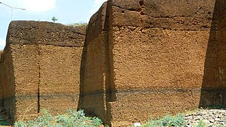 Bidar - Laterite under the Top soil Layer