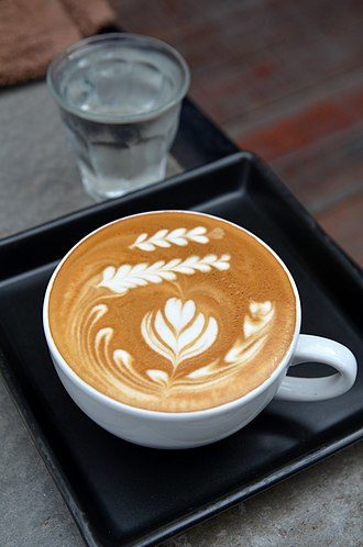 Latte - Latte art