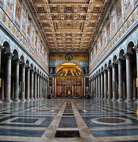 18 novembre Dédicace des basiliques St Pierre et St Paul  585px-azio_Roma_SPaolo1_tango7174