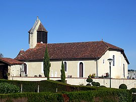 The church in Le Leuy