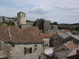 A general view of La Couvertoirade