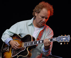 Lee Ritenour performing at Stockholm JazzFest09