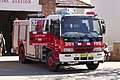 Leeton fire tanker at the fire station in Chelmsford Pl in Leeton.jpg