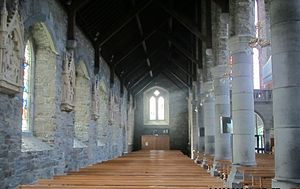 St Mary's Cathedral, Killarney - Image: Left chapel of the cathedral of killerney by paride