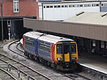 Leicester - Abellio 156411 (Stagecoach colours).JPG