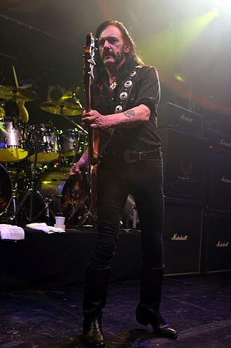 Lemmy - Lemmy in May 2005, at Reds, Edmonton