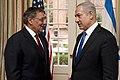 Leon E. Panetta and Benjamin Netanyahu.jpg