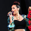 Leona lewis at the hackney festival June 2012.jpg