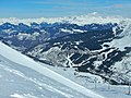 Les 3 Vallées, View to Meribel - panoramio.jpg