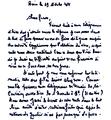 Lettre envoyée par mohamed boudiaf aux dirigeants du caire, ahmed benbella, mohamed khider et hocine ait ahmed.png