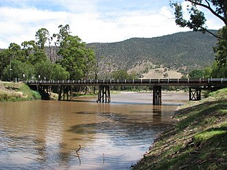 Licola, Victoria - Bridge over the Macalister River