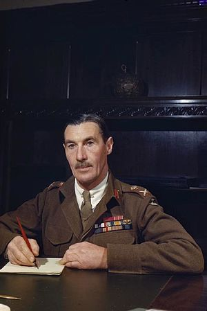 70th Infantry Division (United Kingdom) - Ronald Scobie, General Officer commanding the 70th Infantry Division and the Tobruk garrison.