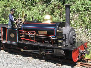 Lilian bei der Launceston Steam Railway (Juni 2010)
