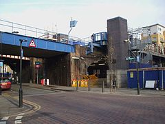 Limehouse station entrance.JPG