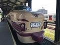 """Limited Express """"Nichirin"""" at Kyushu Railway History Museum 2.jpg"""