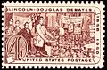 Lincoln Douglas debates of 1858 1958 Issue-4c.jpg