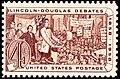 Lincoln Douglas debates of 1858 1958 Issue-4c.jpg