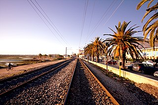 Linha do Algarve Railway line in Portugal