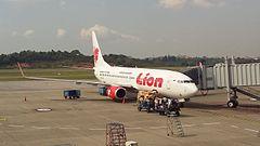 Boeing 737-800 należący do Lion Air, podobny do feralnej maszyny.