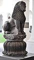 Lion Capital - Chunar Sandstone - Circa 3rd Century BCE - Rampurva - ACCN 6298-6299 - Indian Museum - Kolkata 2014-04-04 4432.JPG