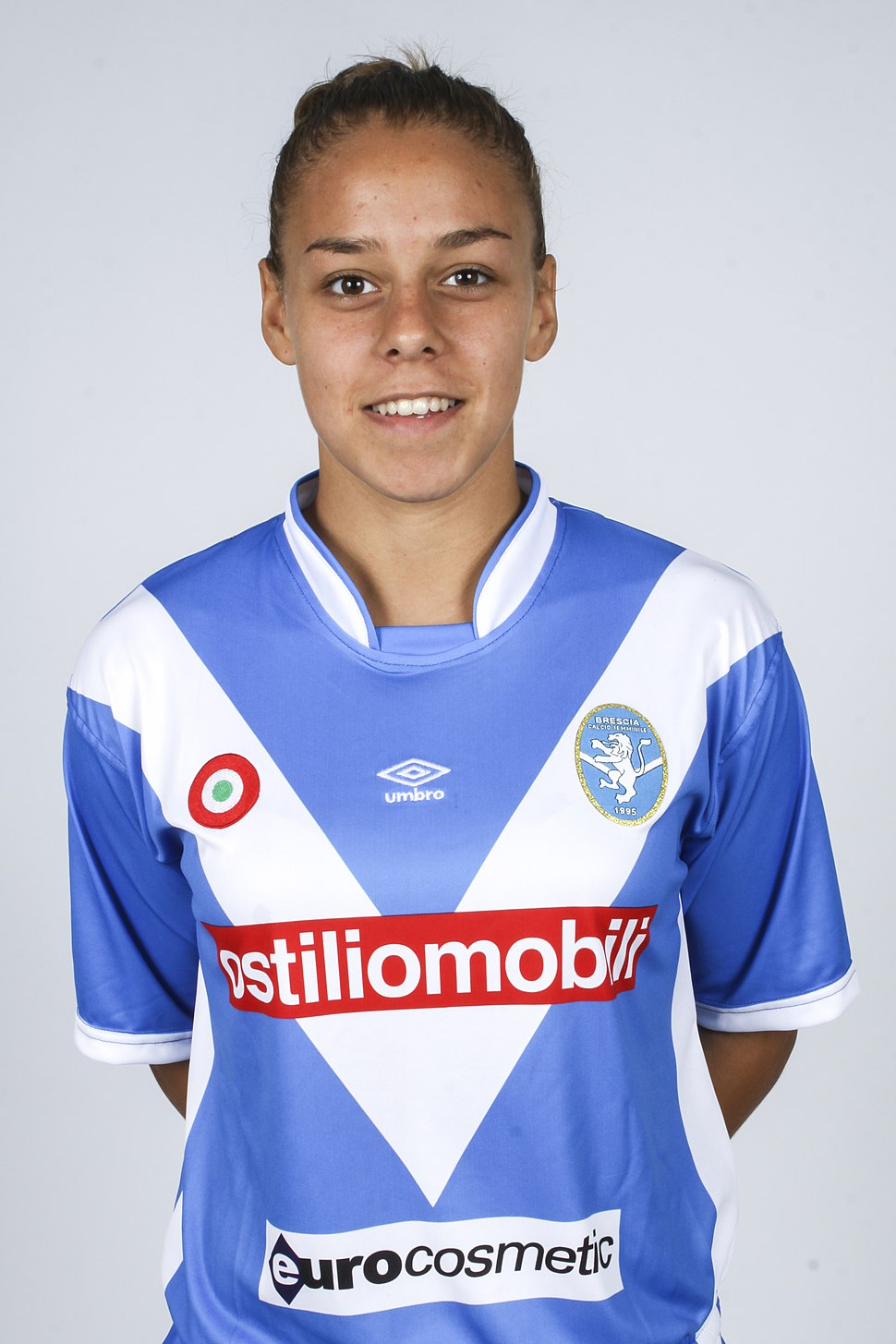 Lisa Boattin, DF Brescia Calcio Femminile 08 2015