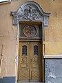 Listed former factory, street door. - 2 Ótemető Street, Kecskemét 2016 Hungary.jpg