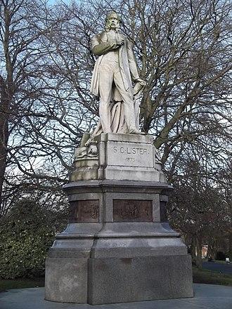 Matthew Noble - Image: Lister Memorial