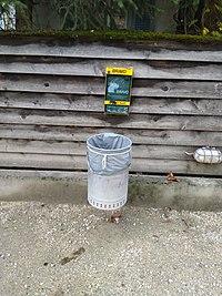 Litter bin and dog excrement bags dispenser.jpg
