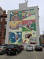 Little Nemo in Slumberland mural downtown Cincinnati, OH Oct 2016.jpg