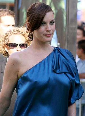 Liv Tyler at the premiere for The Incredible Hulk.
