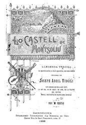 Josep Abril i Virgili: Lo castell de Montsoliu