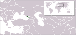 Outline of Abkhazia - The location of Abkhazia
