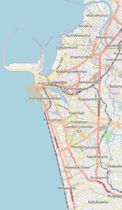 St. Benedict's College is located in Colombo Municipality