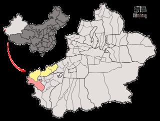 Akto County County in Xinjiang, China