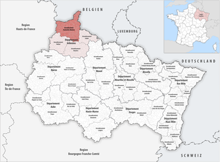Arrondissement of Charleville-Mézières Arrondissement in Grand Est, France