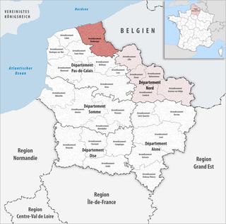 Arrondissement in Hauts-de-France, France