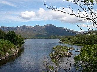 Loch Assynt - Image: Loch Assynt geograph.org.uk 62817