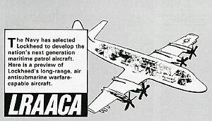 Lockheed P-7 - P-7 LRAACA drawing