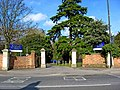 London Road entrance to St. Edward's Junior School and Kindergarten - geograph.org.uk - 1776951.jpg