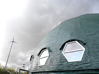 Geodesic dome - Long Island Green Dome