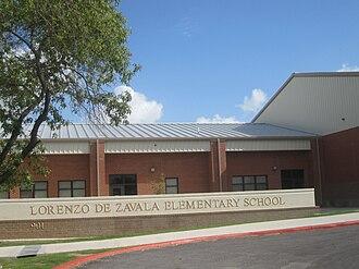 Lorenzo de Zavala - Lorenzo de Zavala Elementary School in Crystal City, Texas
