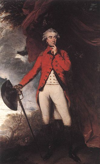 Francis Rawdon-Hastings, 1st Marquess of Hastings - The Marquess of Hastings as Governor-General of India by Joshua Reynolds