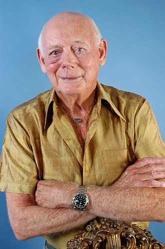 Edward Douglas-Scott-Montagu, 3rd Baron Montagu of Beaulieu - Studio photograph of Lord Montagu in 2006, by Allan Warren