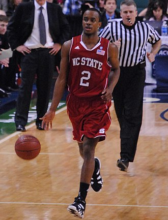Lorenzo Brown - Brown playing for NC State