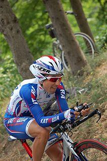 Luca Mazzanti Racing cyclist