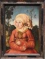 Lucas Cranach , Portrait of a Woman, 1503, Gemaldegalerie, Berlin (39492812814).jpg