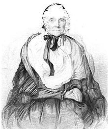 Engraving of Lucy Mack Smith